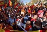 barca protests catalan 3