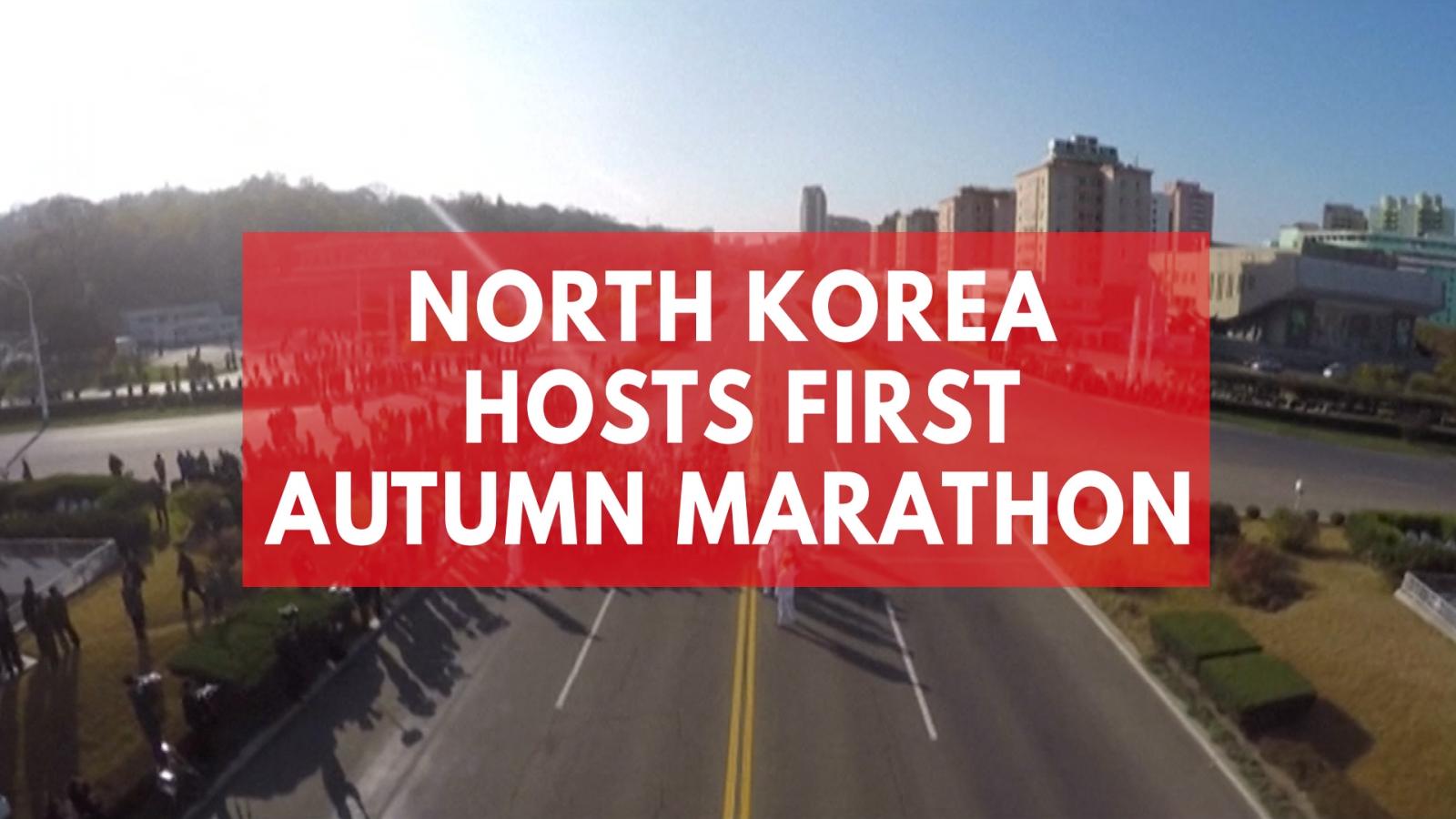 north-korea-holds-first-international-autumn-marathon