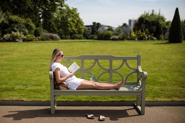 Britain Basks In Hot Weather