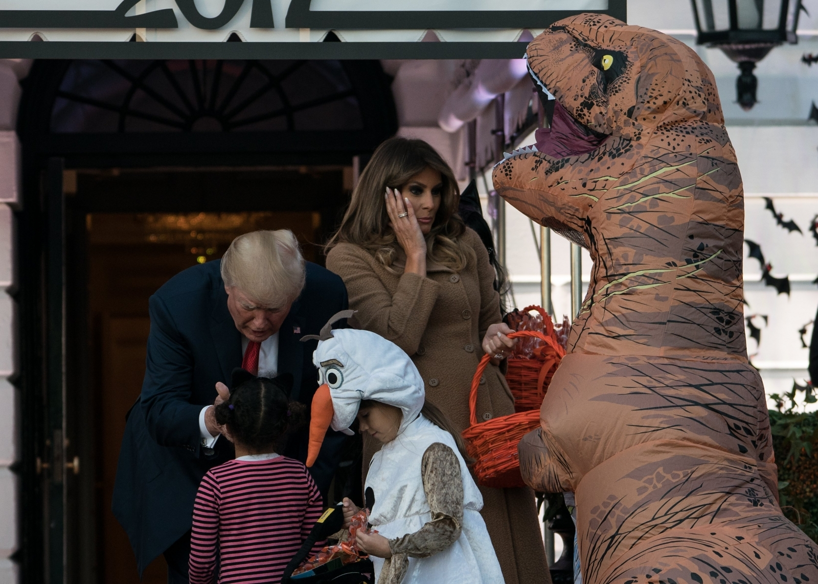 Donald and Melania Trump Halloween
