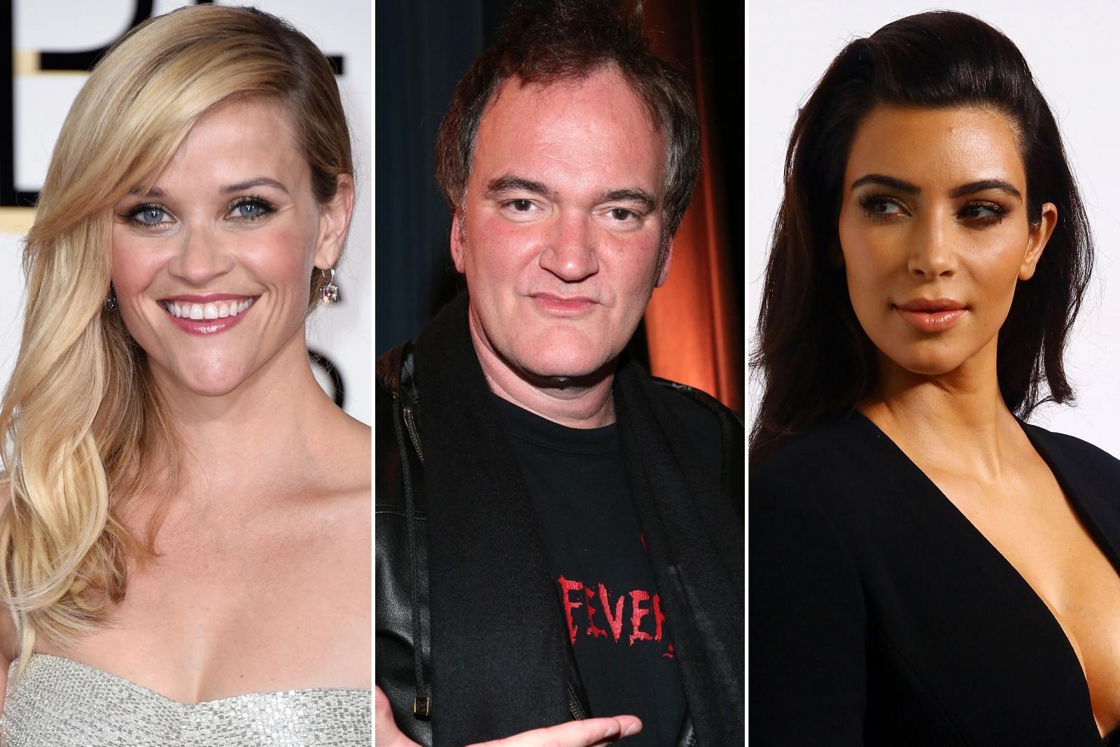 Reese Witherspoon Quentin Tarantino Kim Kardashian