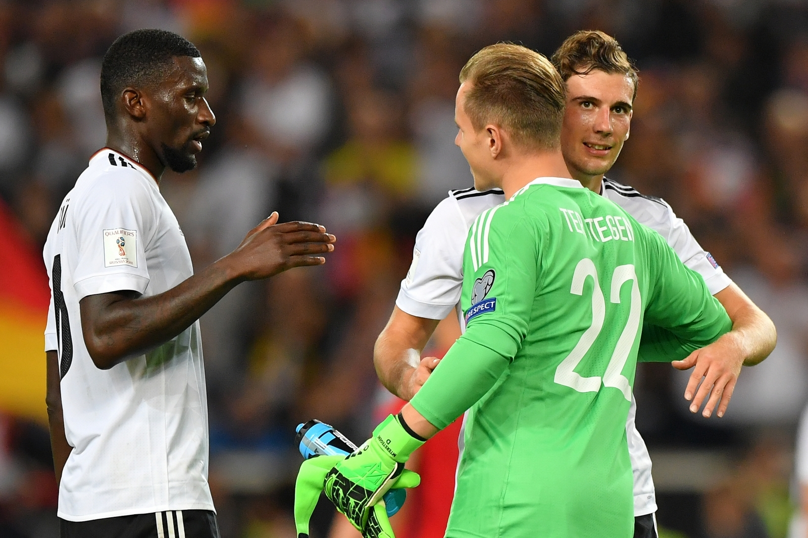 Barcelona goalkeeper Ter Stegen: Goretzka good enough for any major club
