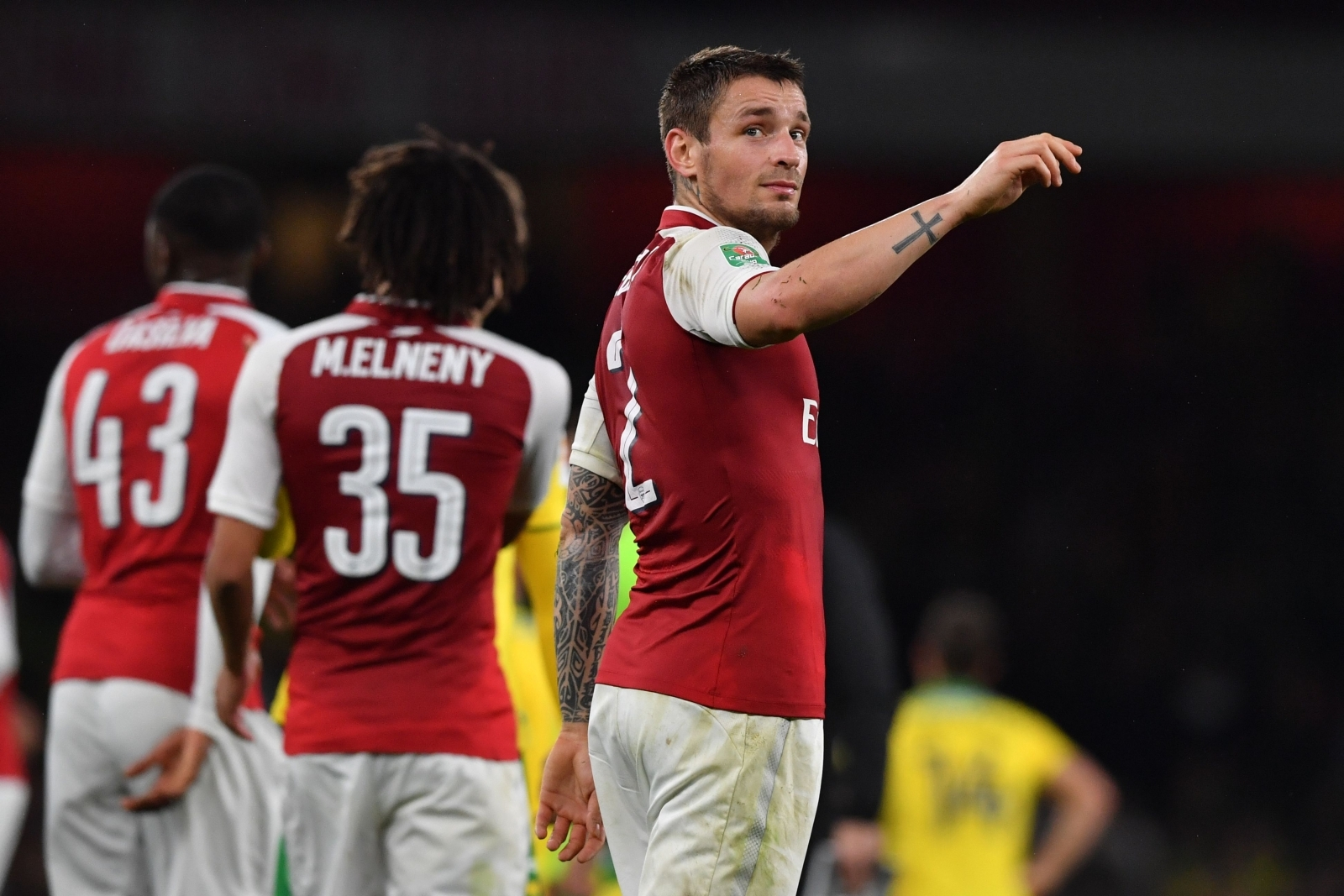 Arsene Wenger prepared to hand Mathieu Debuchy an Arsenal lifeline