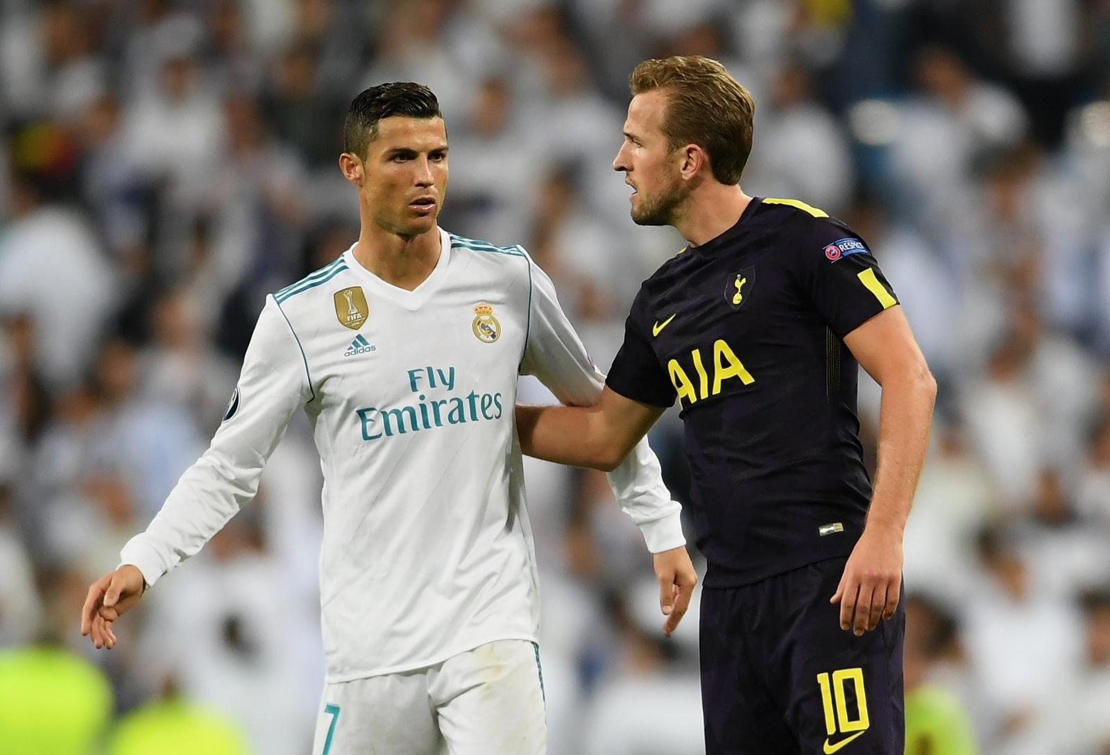 Cristiano Ronaldo and Harry Kane