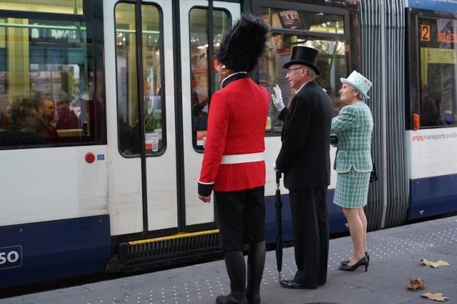 Geneva tram londoners