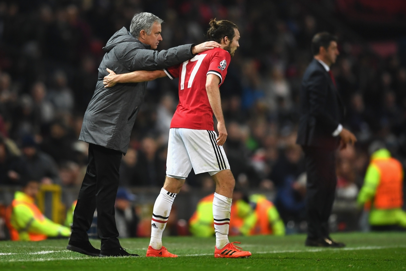 Jose Mourinho and Daley Blind