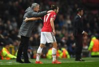 Jose Mourinho and Daley Blind