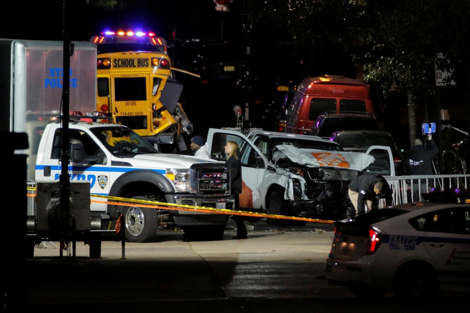 New York Truck Attack