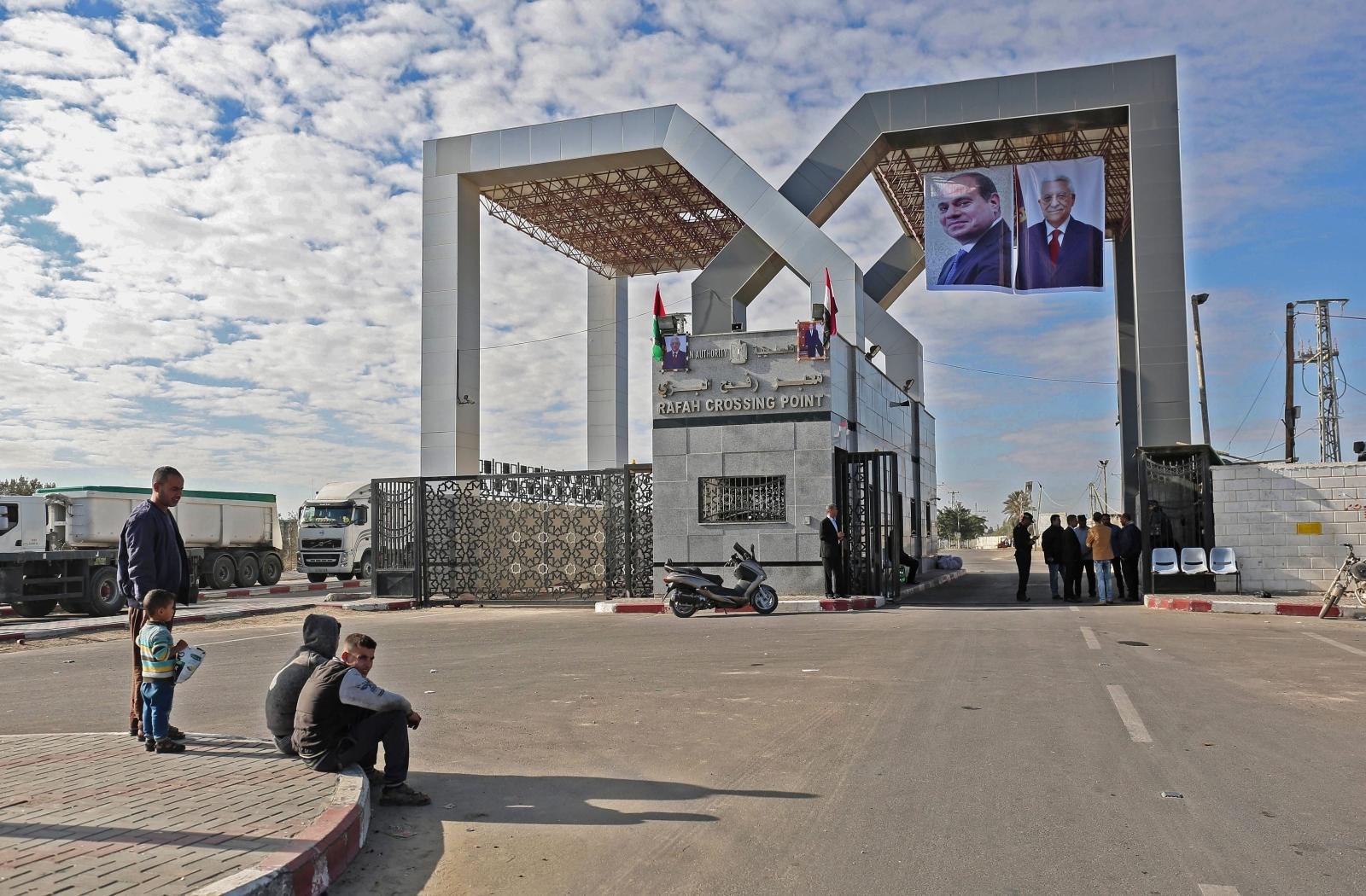 Rafah border crossing
