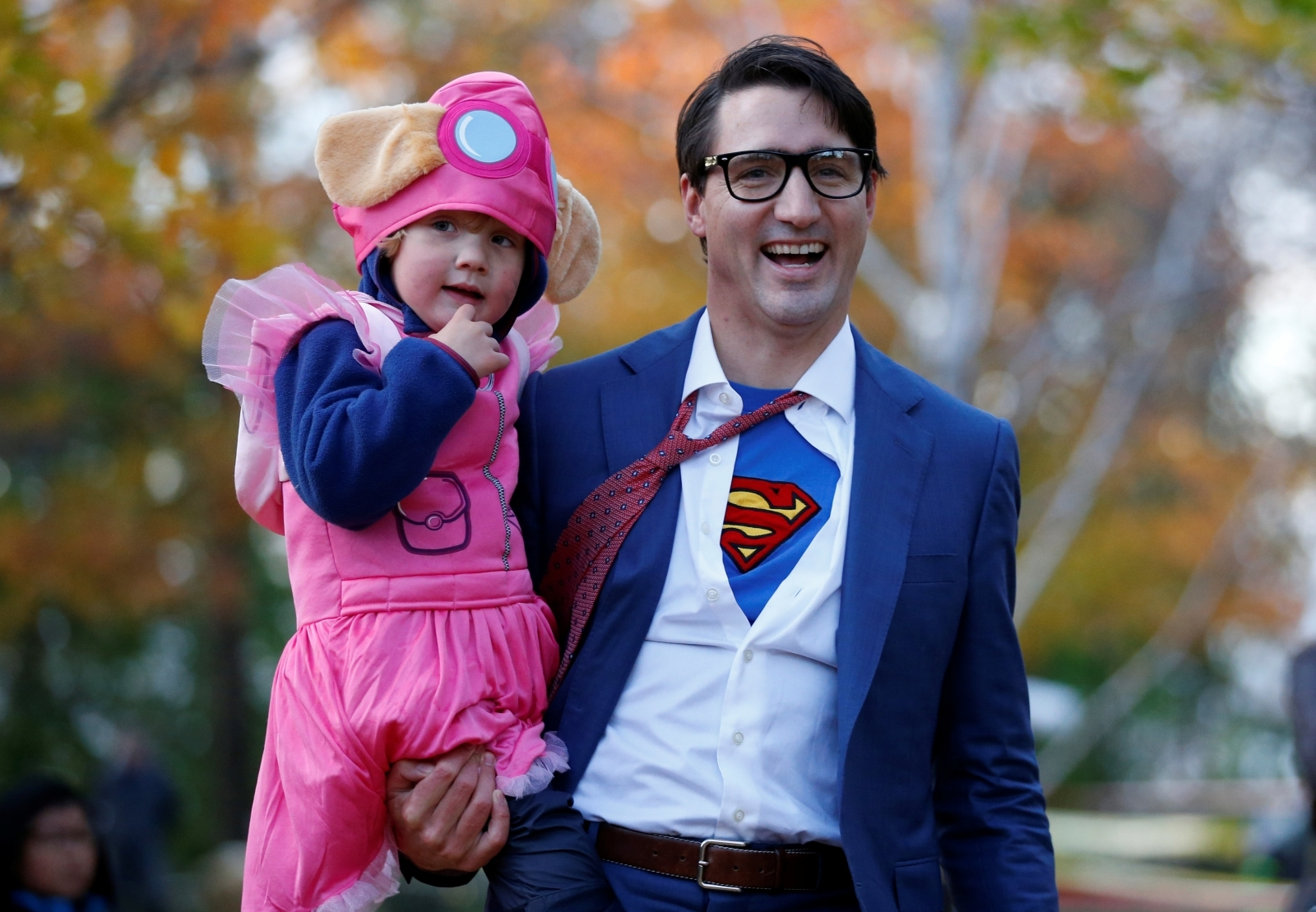 Justin Trudeau Halloween