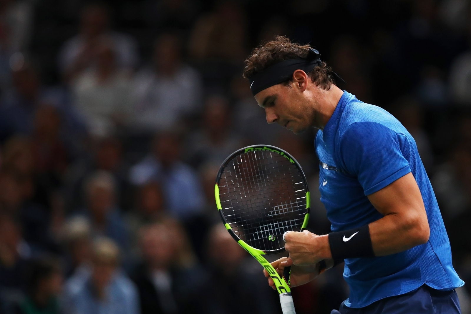 Rafael Nadal secures No. 1 ranking by advancing at Paris Masters