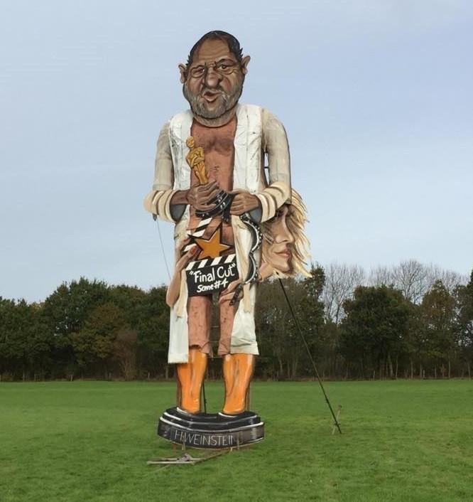 Harvey Weinstein effigy
