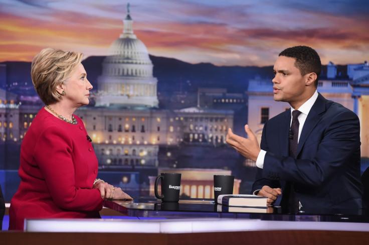Hillary Clinton, Trevor Noah