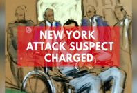 New York Attack Suspect is Charged