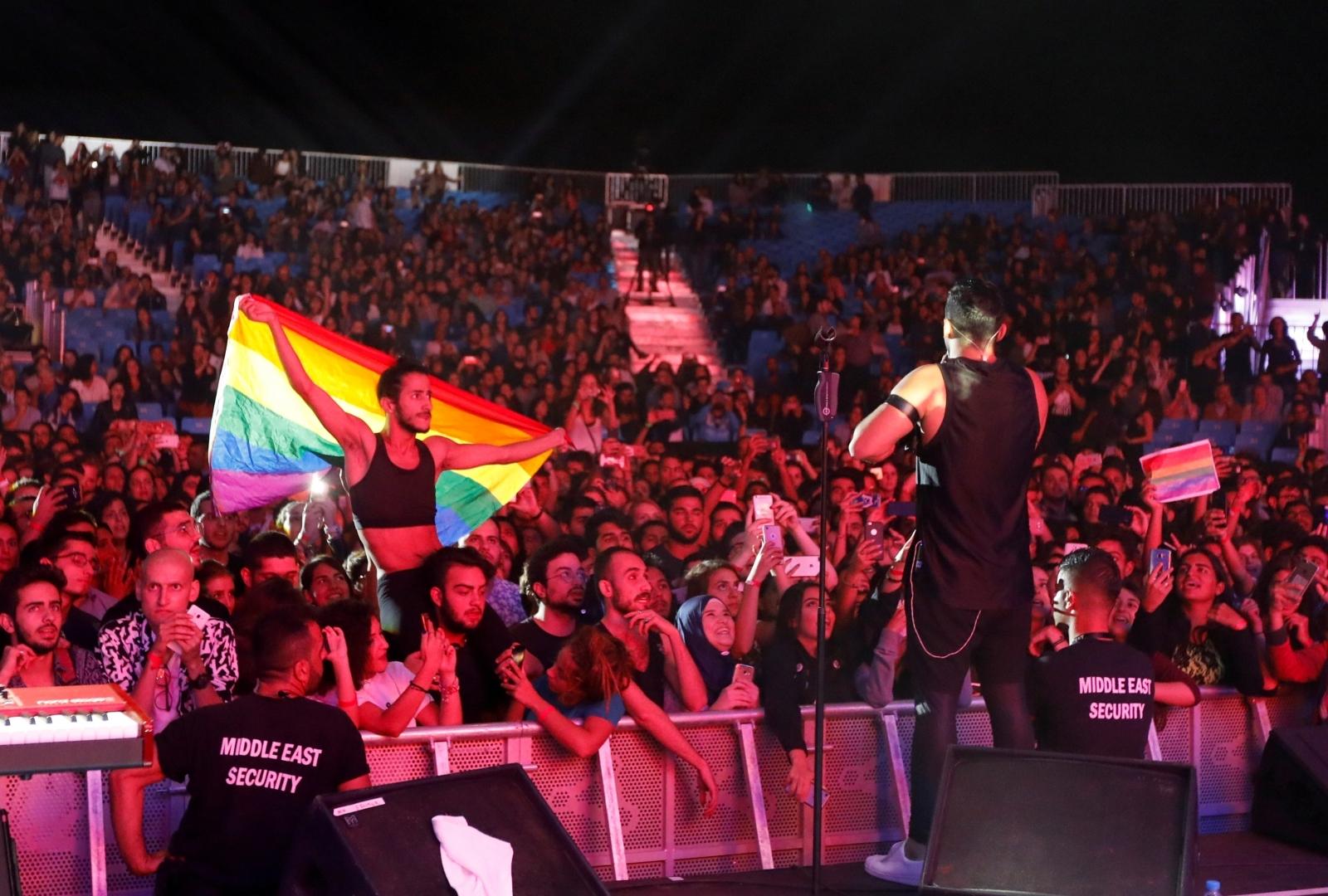 Mashrou' Leila show in Lebanon