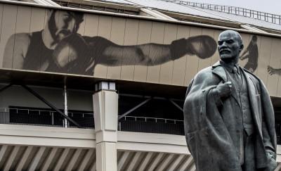 Russian Revolution Lenin monuments