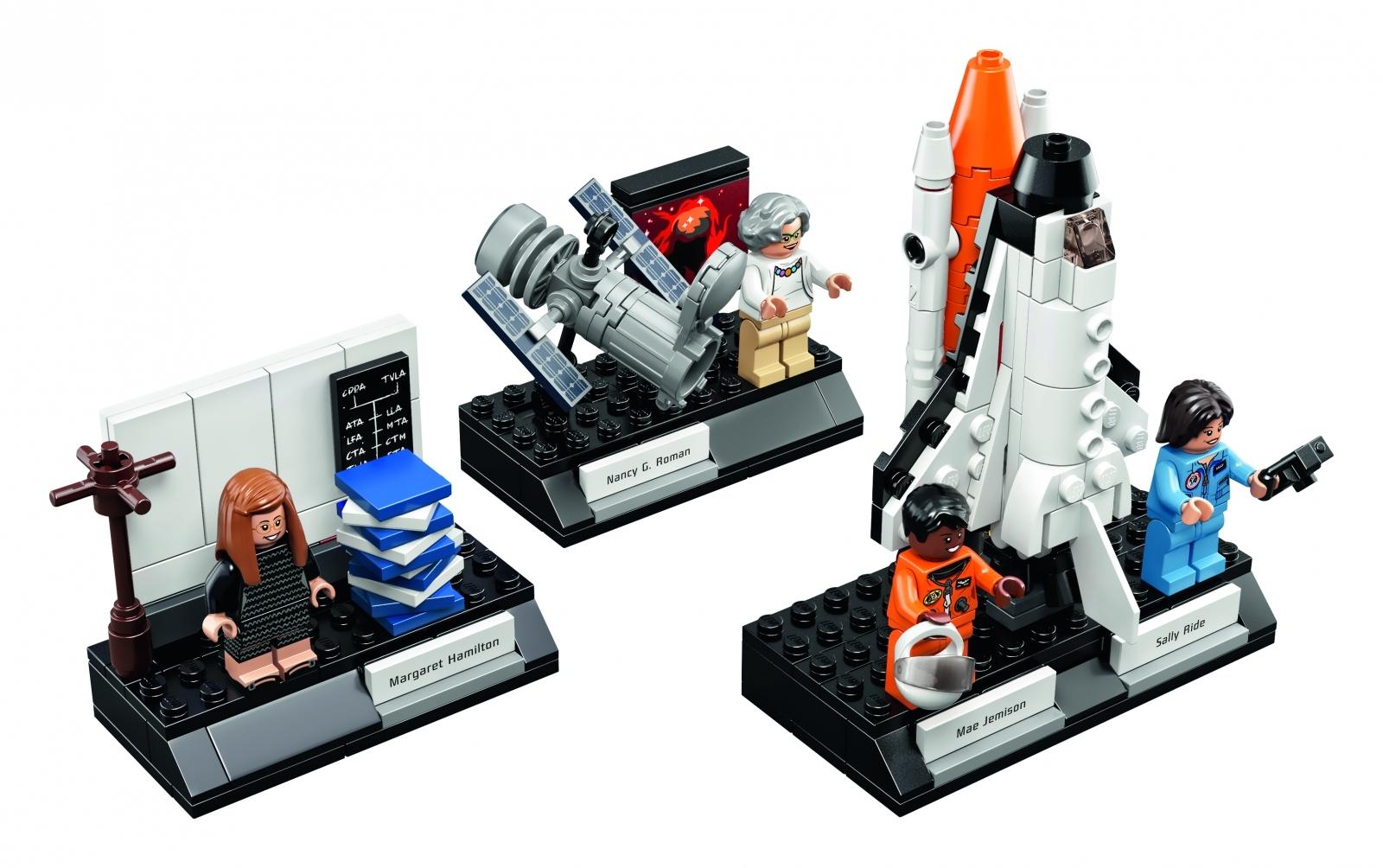 The Lego Women of Nasa toy set
