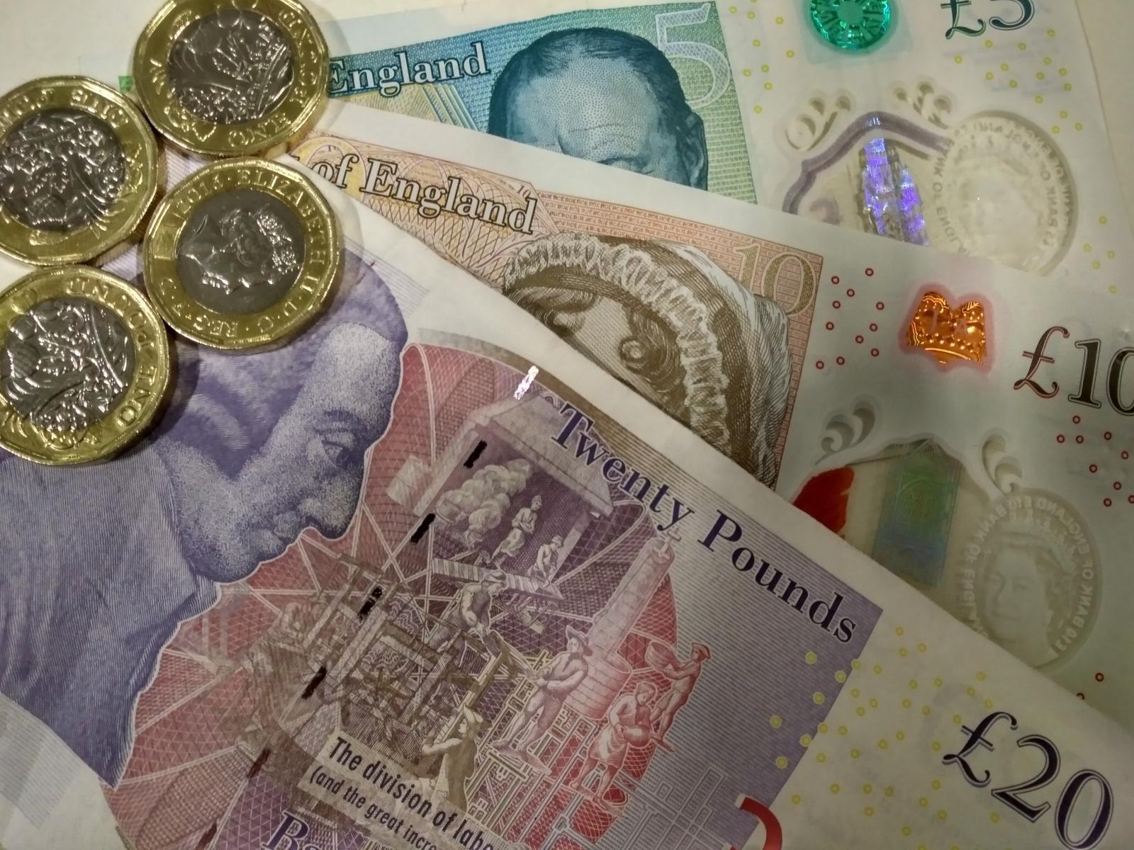 Pound notes II