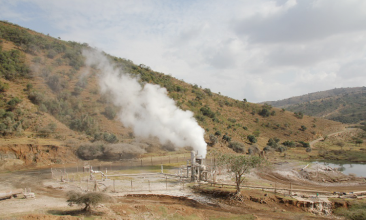 Aluto geothermal well