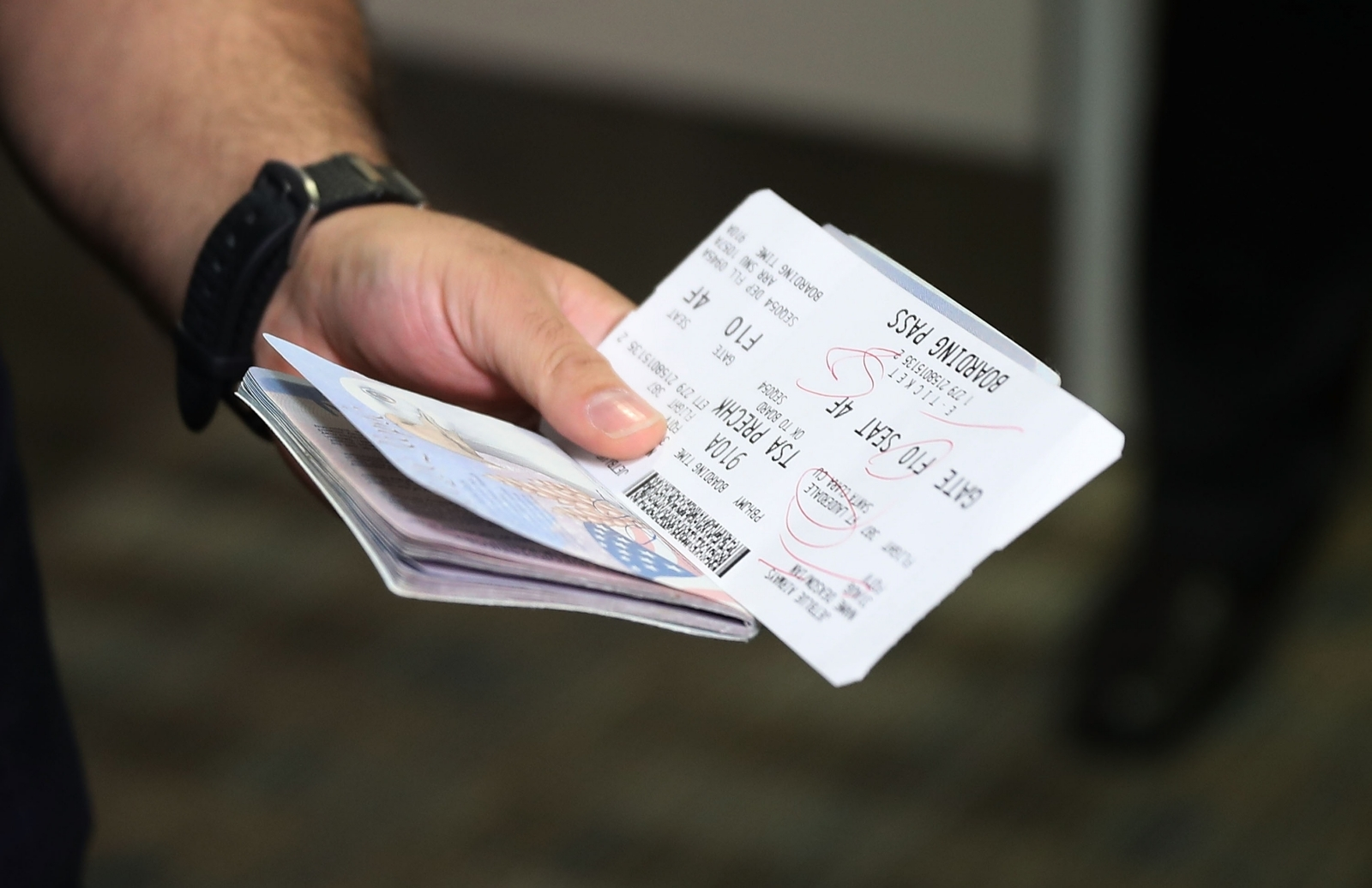 Passport check