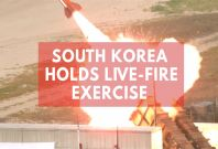 South Korea Conducts Anti-Aircraft Guided Missiles Drill Ahead of Trump's Visit