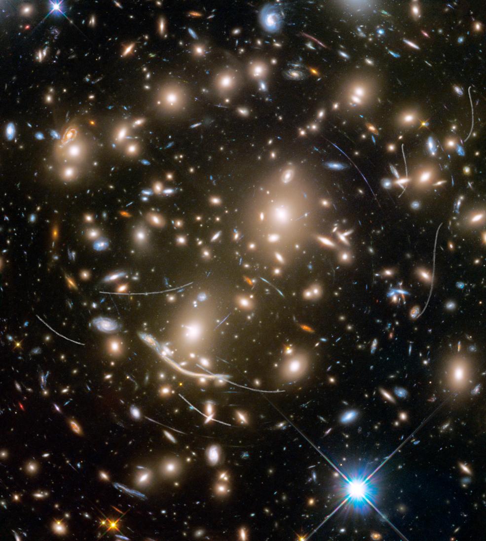 Asteroids photobombing galaxies