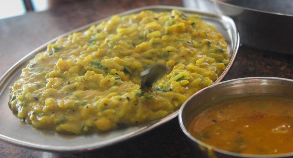 Khichdi, an Indian dish