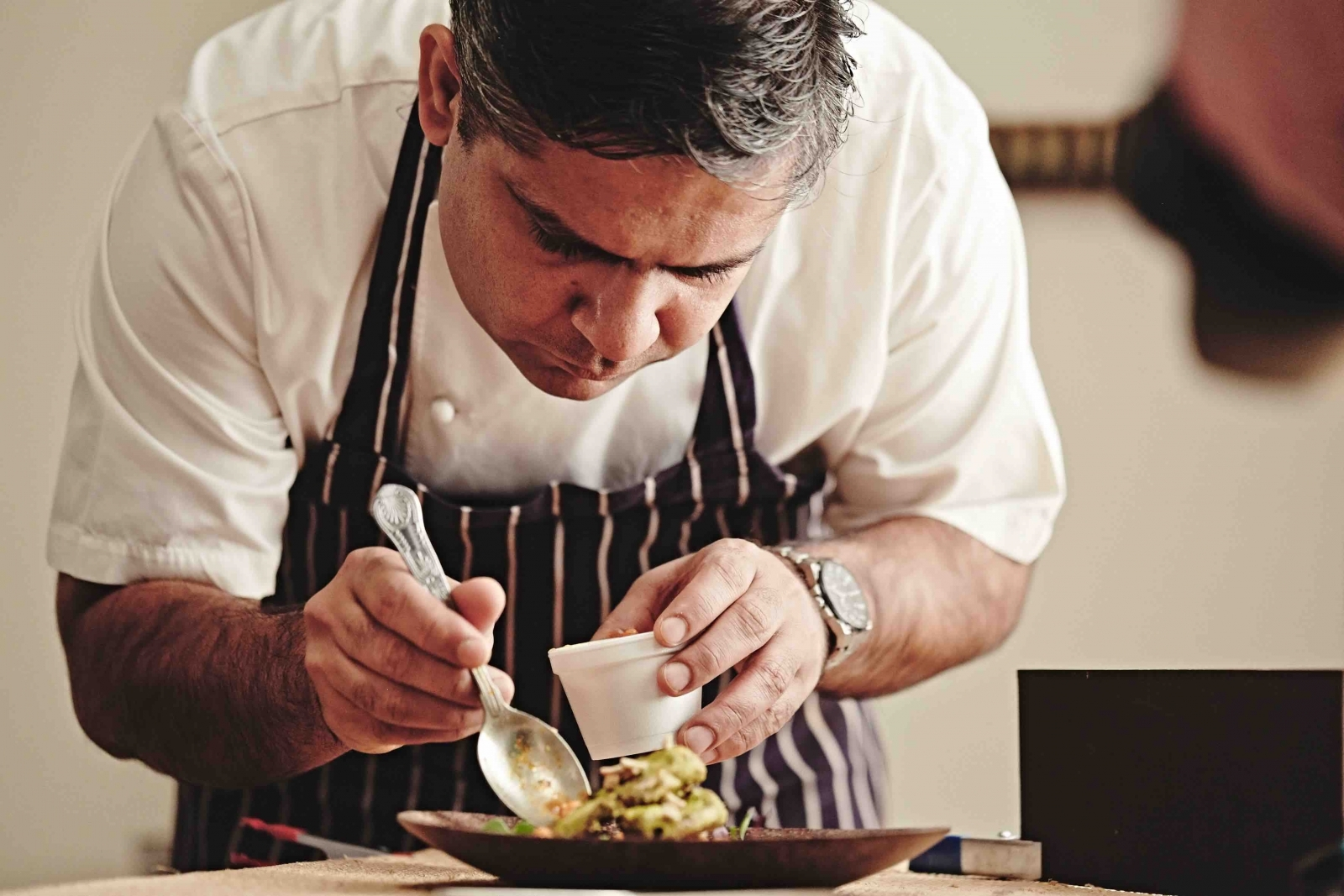 Indian chef, Vivek Singh