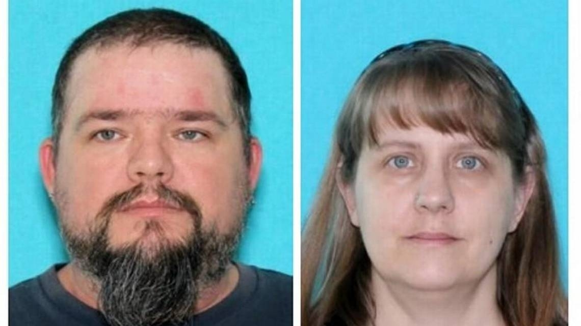 Anthony Foxworth (l) his wife Mary Foxworth, have jumped bail after pleading guilty to a criminal mistreatment charge relating to their son in Lewis County Superior Court
