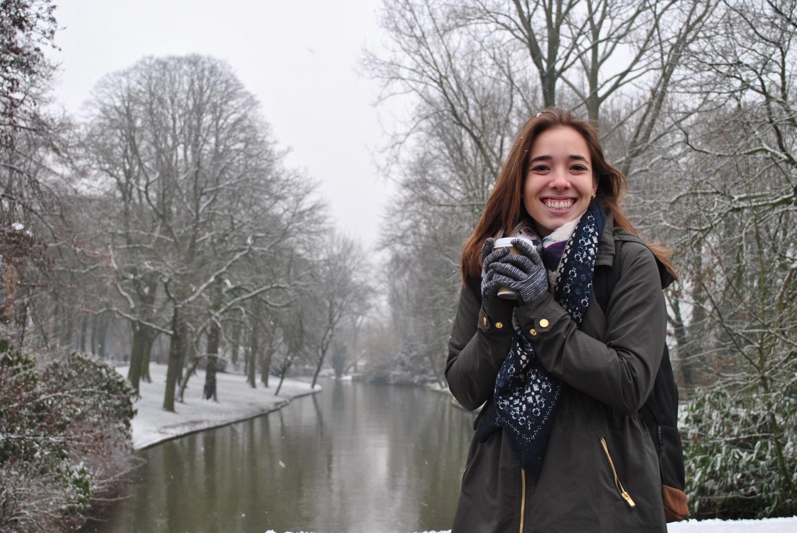 University of Notre Dame student Emily Garrett