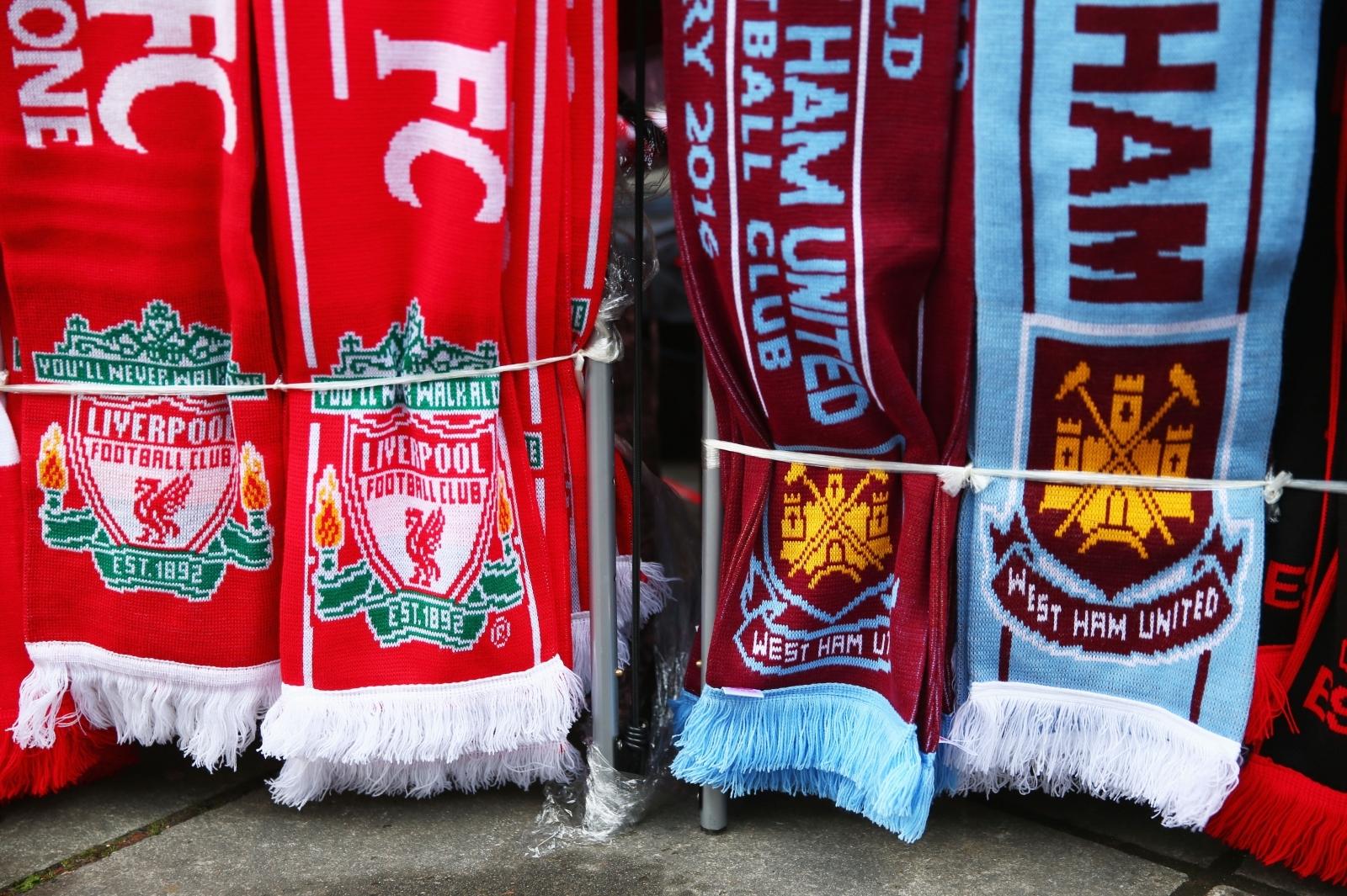 West Ham vs Liverpool: Premier League - LIVE