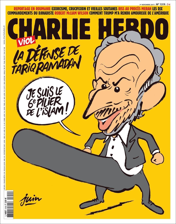 Charlie Hebdo Tariq Ramadan cover