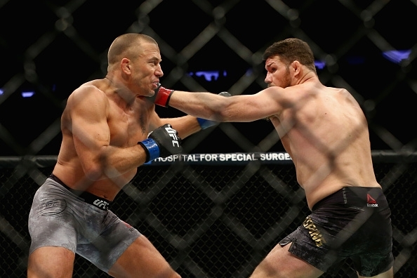 St-Pierre vs Bisping