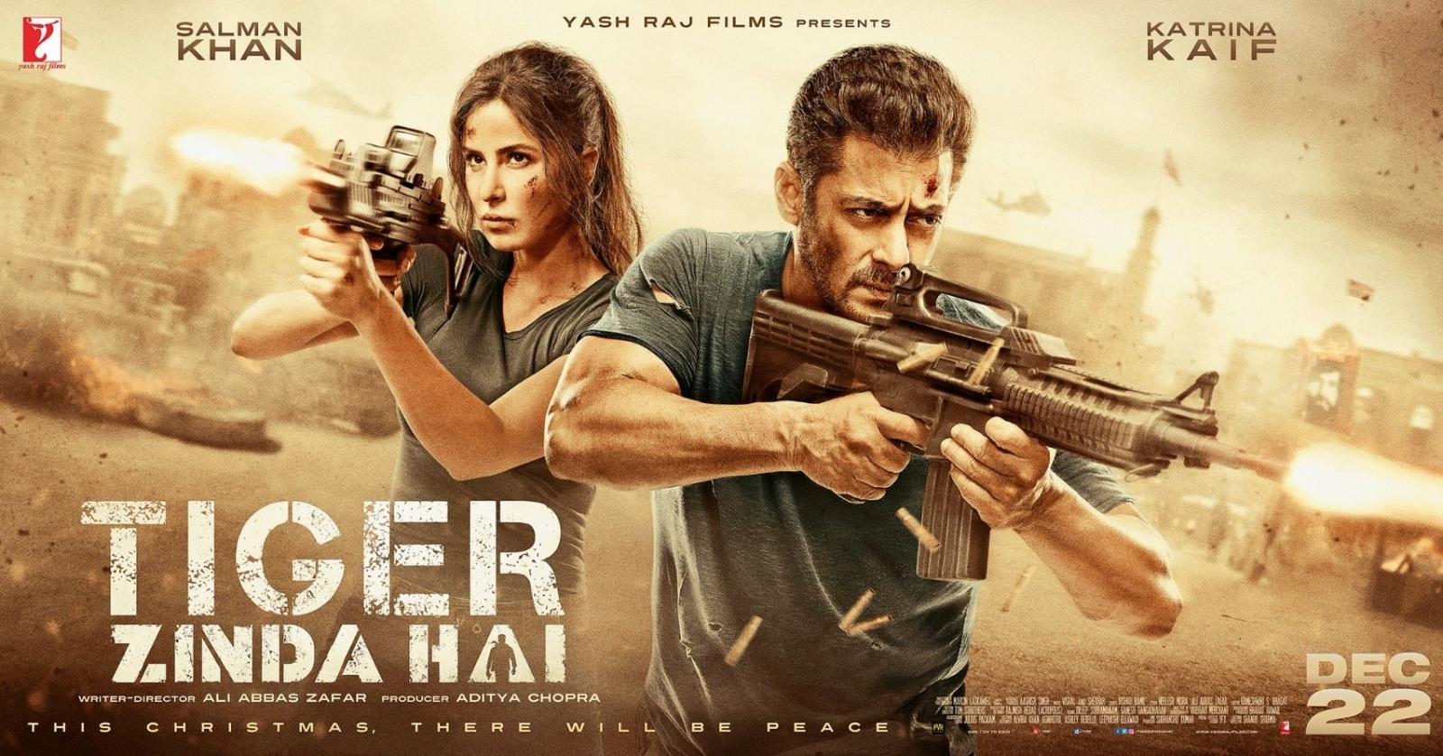Salman Khan Roars With Tiger Zinda Hai Trailer, But