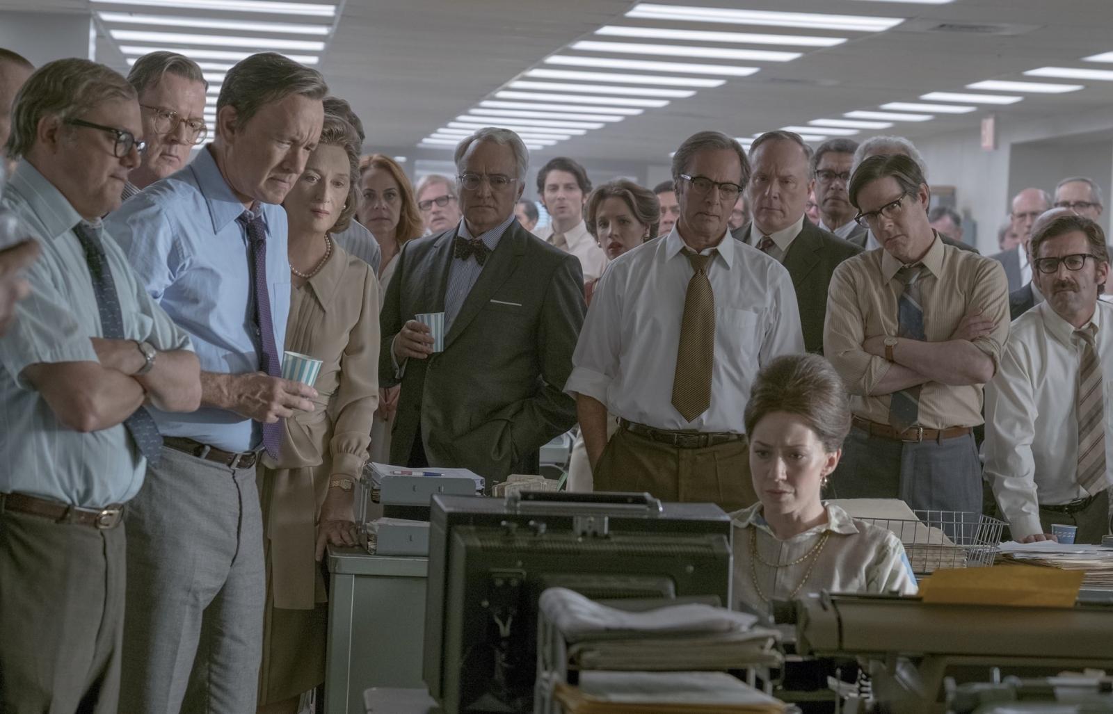 The Post Tom Hanks Meryl Streep Spielberg
