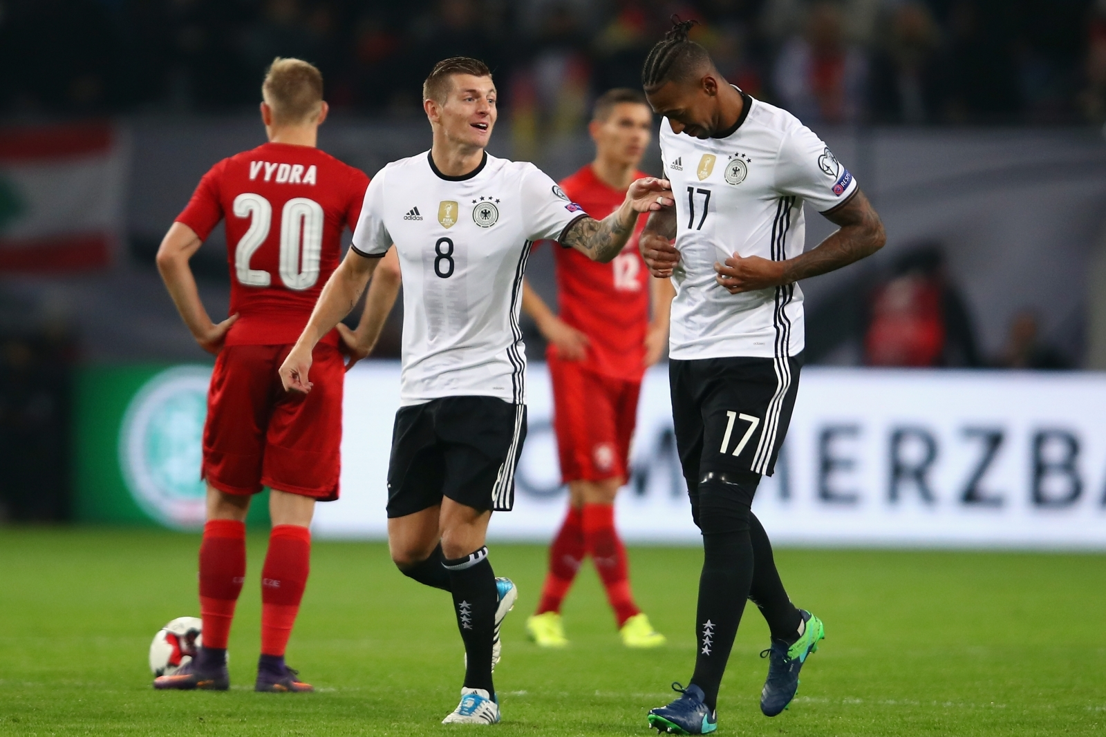 Toni Kroos and Jerome Boateng