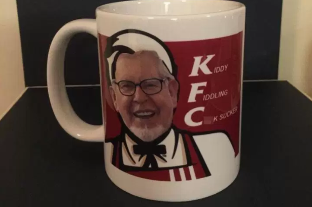 Ebay sick mug rolf harris