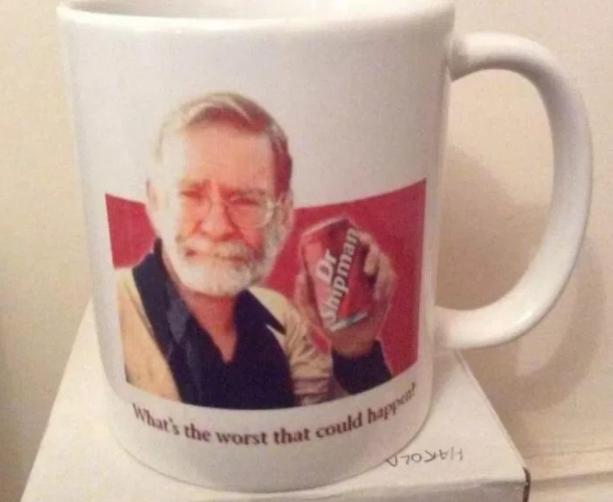 Ebay sick mug harold shipman