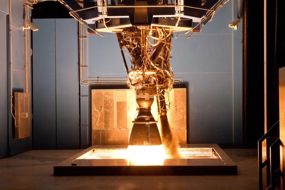 Merlin engine testing