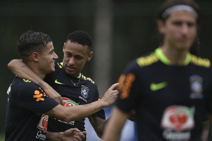 Philippe Coutinho-Neymar