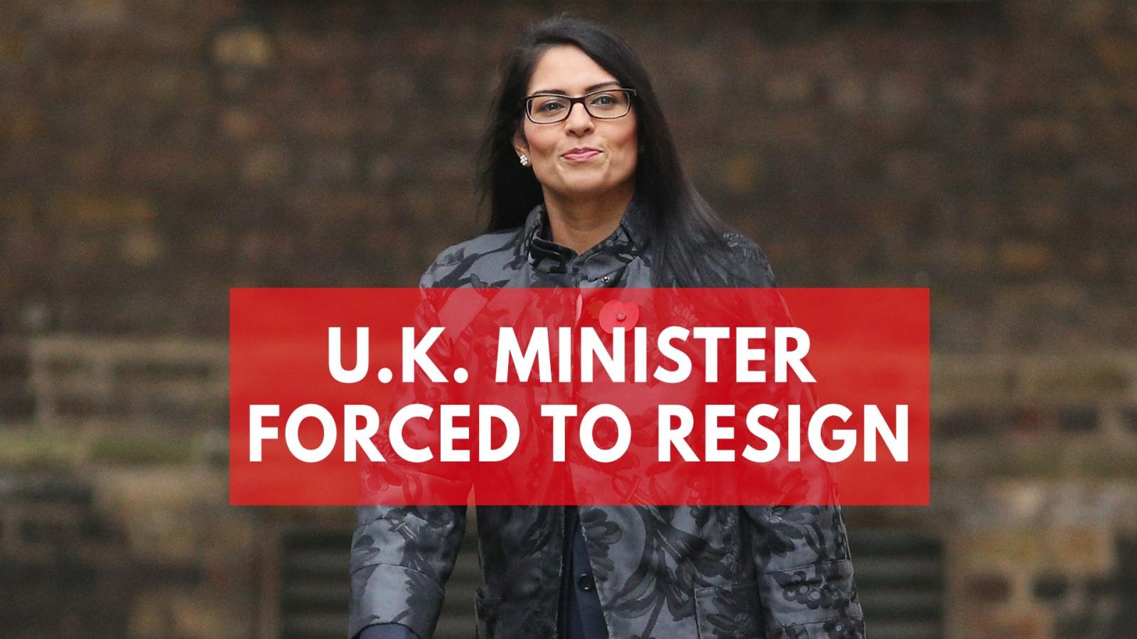 u-k-minister-priti-patel-quits-cabinet-over-undisclosed-meetings-in-israel