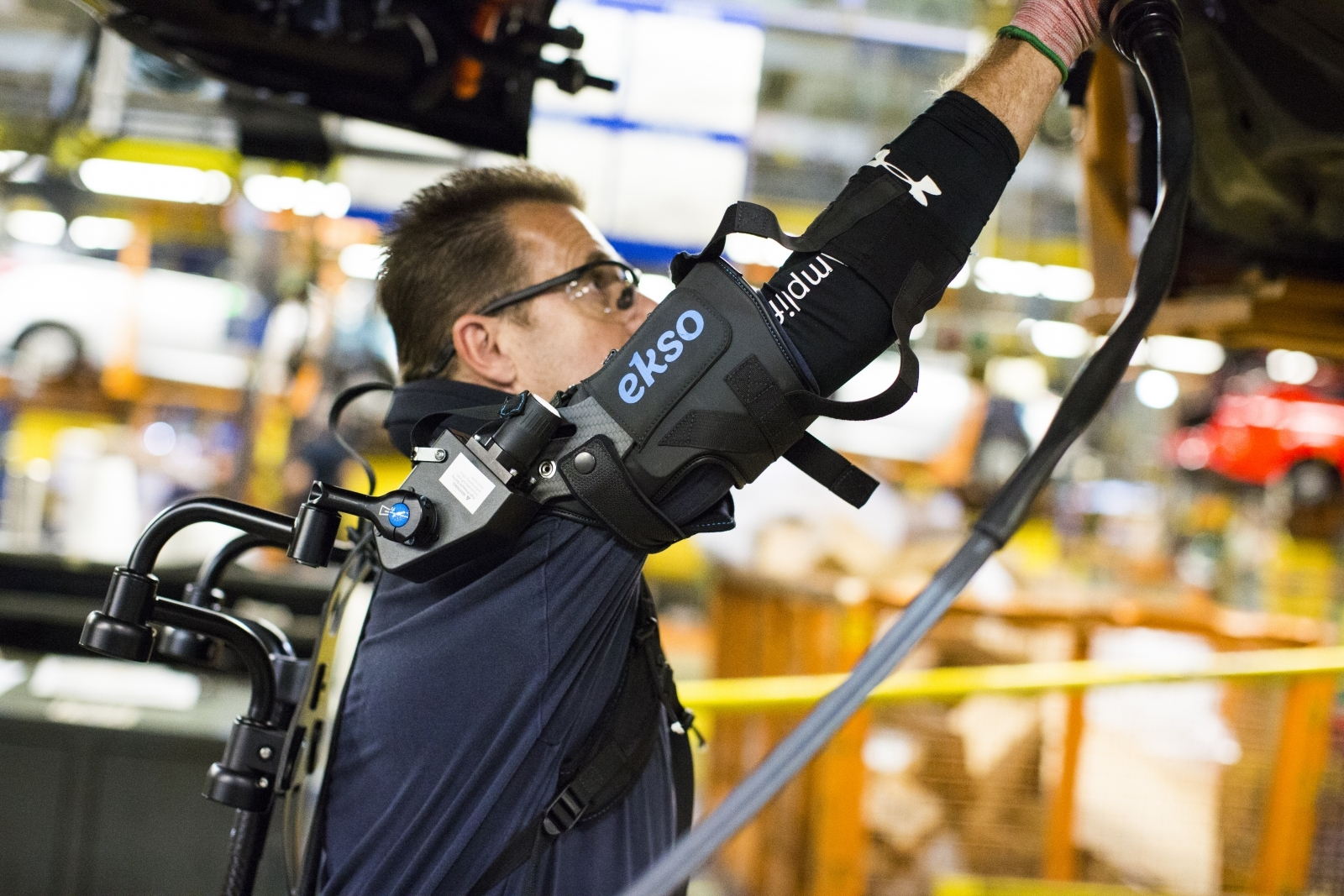 Ford testing exoskeleton created to  ease physical tasks for workers