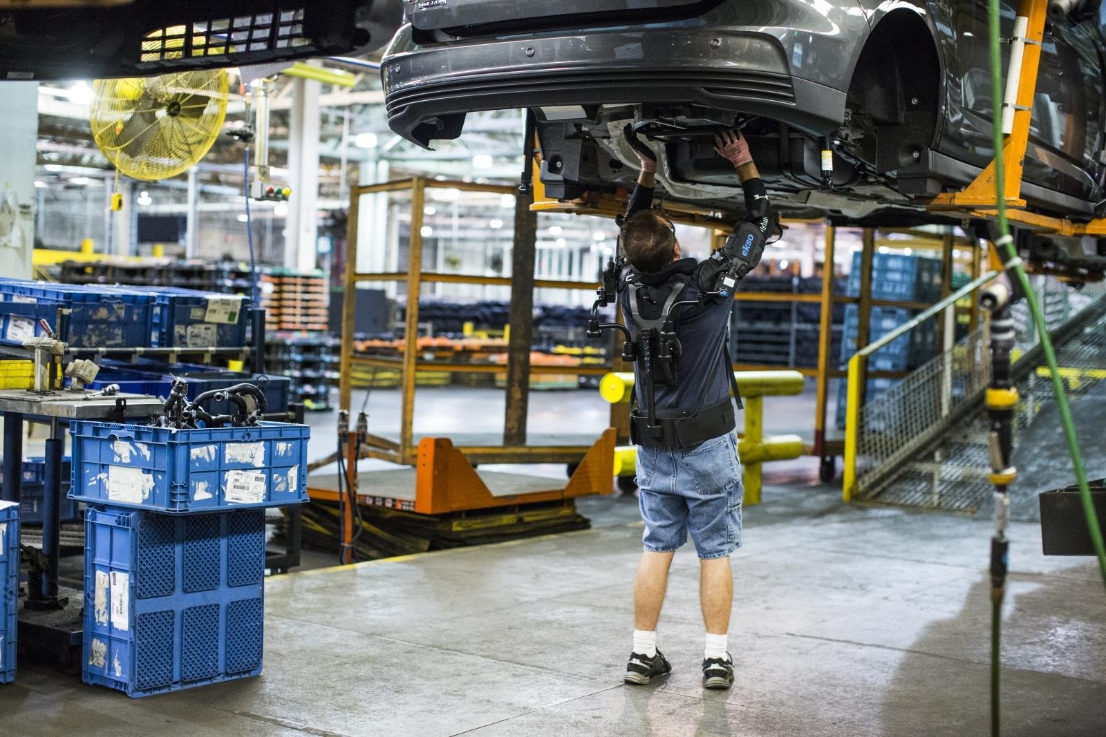 Ford exoskeleton