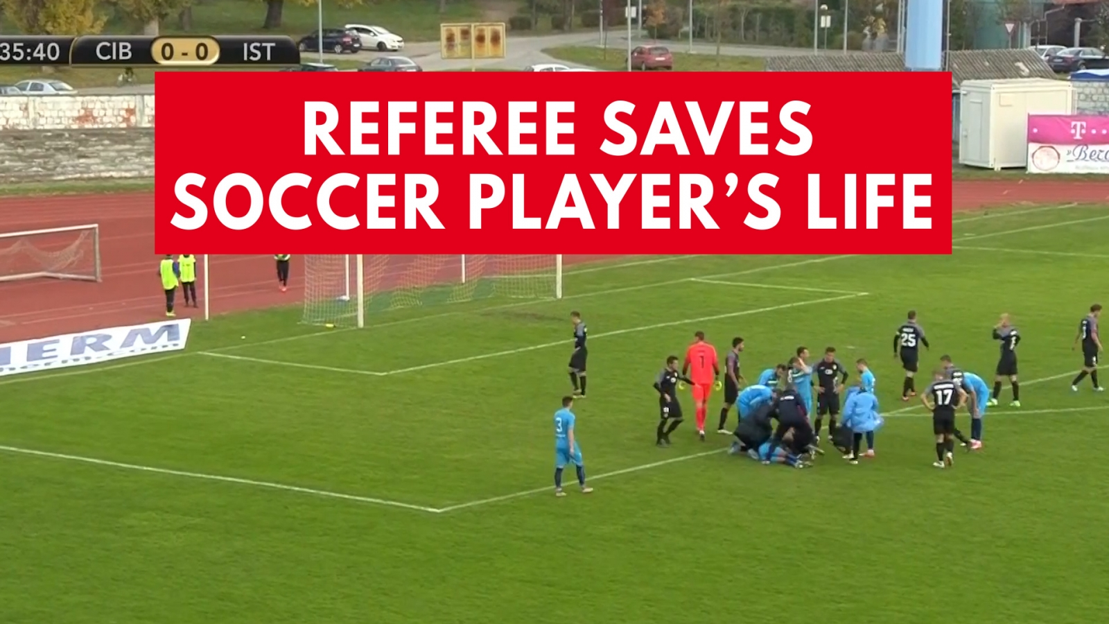 Referee Saves Soccer Player's Life