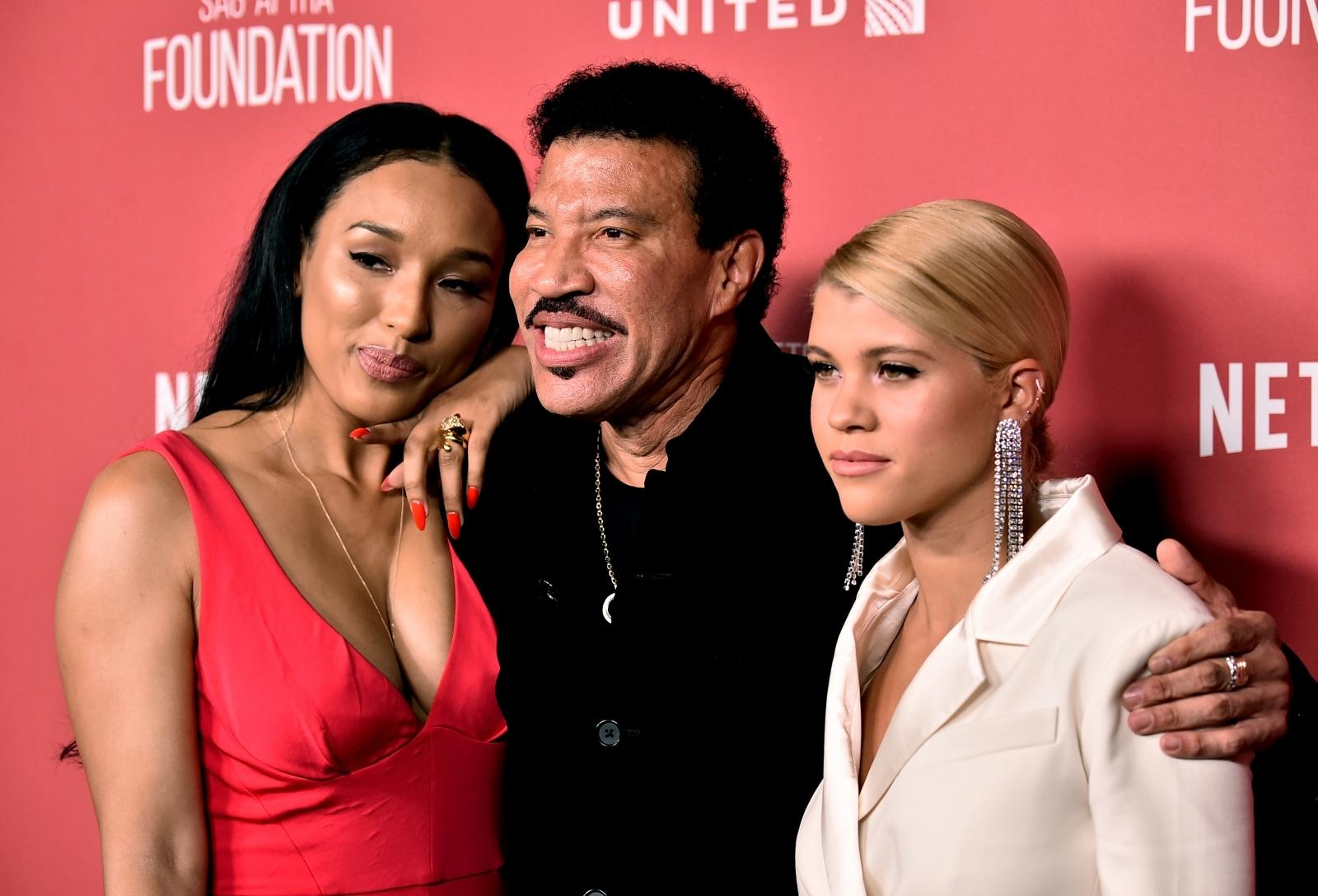 Lionel Richie and Sofia Richie
