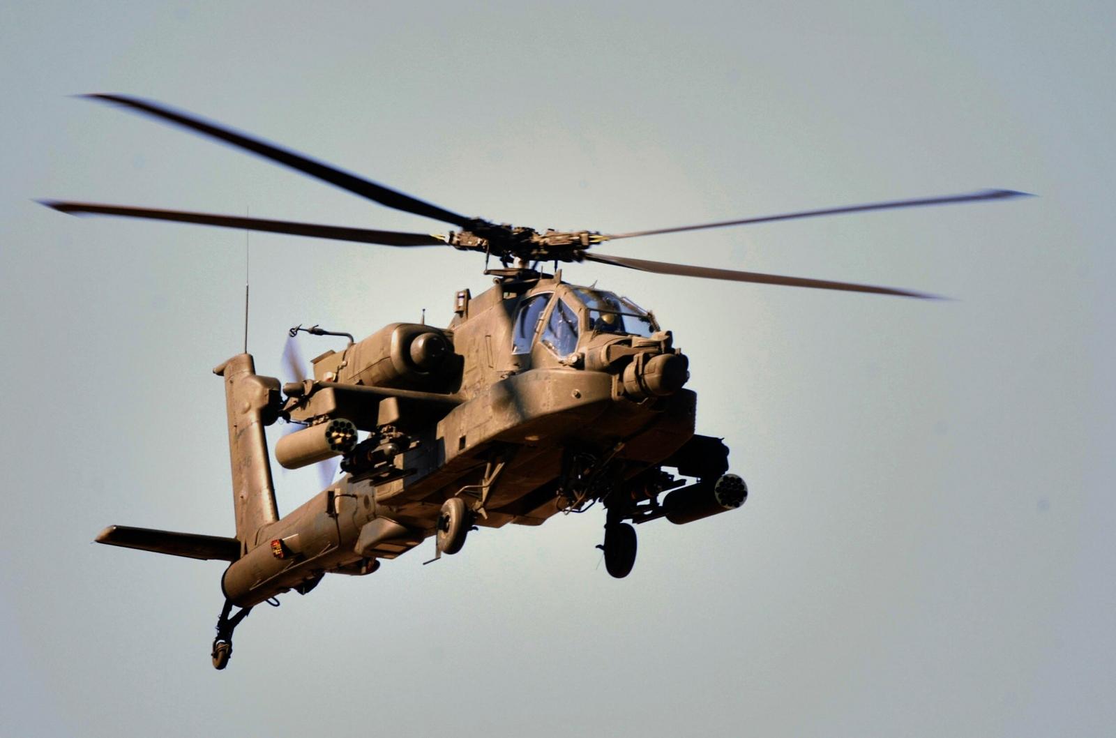Apache gunship
