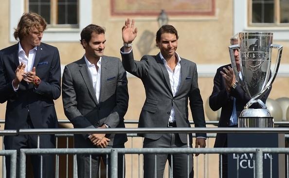 Zverev, Federer and Nadal