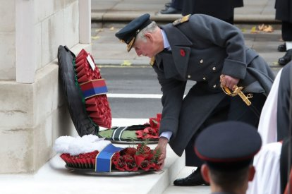 Prince Charles at 2017 Remembrance Day service
