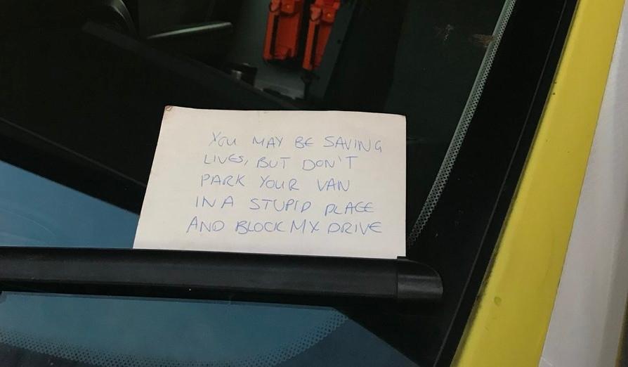 Ambulance Note