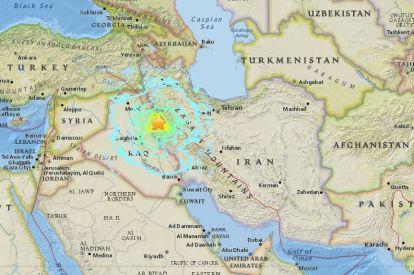 Iran earthquake